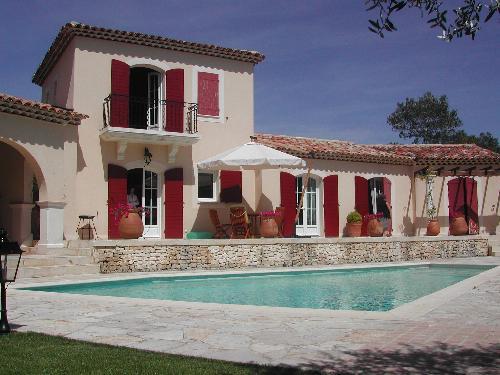 villa sur le golf de Pont Royal en Provence dans domaine sécurisé