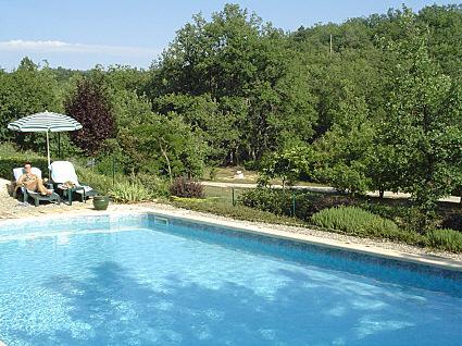 Villa et chambres d'hôtes avec piscine en Verdon
